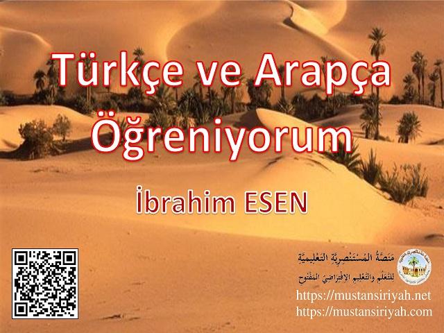 Türkçe ve Arapça Öğreniyorum